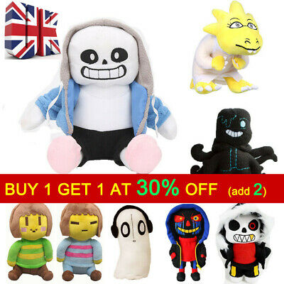 Xmas Gifts Undertale Sans Papyrus Frisk Chara Temmie Plush Stuffed Toys For Kids • 8.13£