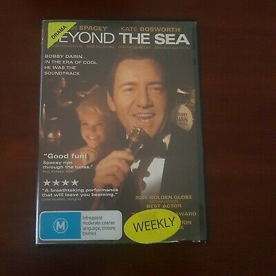 AU14.99 • Buy Beyond The Sea Region 4 DVD (2004  Kevin Spacey Music Drama About Bobby Darin)
