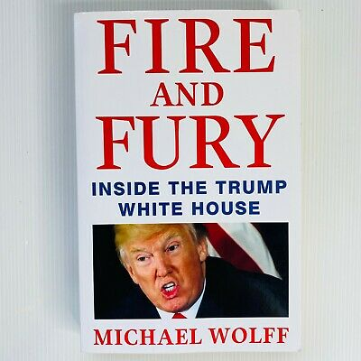 AU16 • Buy Fire And Fury: Inside The Trump White House By Michael Wolff Paperback Free Post