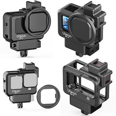 $ CDN20.86 • Buy G9-4 Vlog Frame Cage Protective Case Cold Shoe For GoPro HERO 9 8 Sports Camera