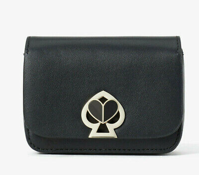 $ CDN108.64 • Buy Kate Spade Nicola Twistlock Micro Crossbody Belt Bag Charm Clutch ~NWT~ Black