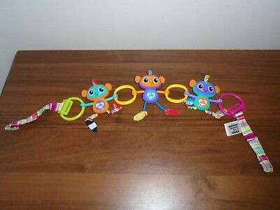 Lamaze Monkey Links Buggy Car Seat Attachment Activity Baby Toy  • 12.99£