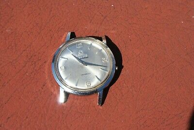 Vintage Swiss TITUS-Solvil Stainless Steel Standard Watch To Fix • 8.50£