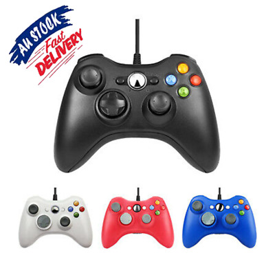 AU23.29 • Buy Wired Games Controller Gamepad Joystick Joypad For Microsoft Xbox 360/PC360 AU
