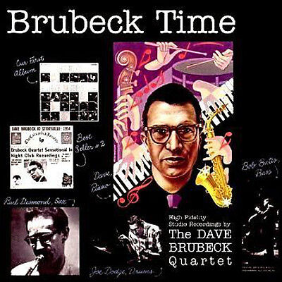 The Dave Brubeck Quartet ~ Brubeck Time New + Sealed Cd 1954 Jazz Album Re-issue • 3.95£