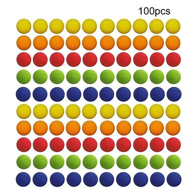 100X Foam Refill Ammo Balls For Nerf Rival Blasters Bullet Balls Round Toy 2.2cm • 6.09£