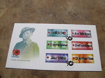 2011 Guernsey FDC / First Day Cover - Royal British Legion  - Poppies • 2£