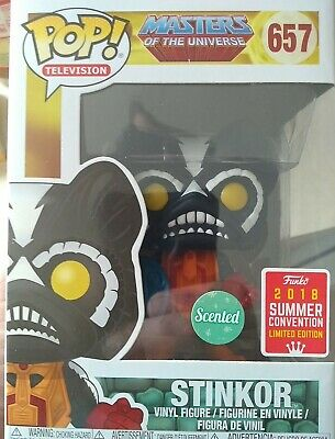$30 • Buy Funko Pop! 657 Masters Of The Universe MOTU Stinkor SDCC 2018 Exclusive Scented