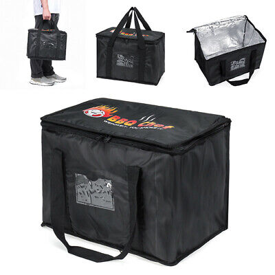50l Large Food Delivery Insulated Bags Pizza Takeaway Thermal Warm/cold Bag Ruck • 14.10£
