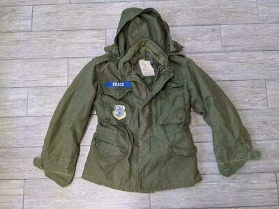 $299.95 • Buy 1970s Vintage M65 Vietnam ALPHA INDUSTRIES Field Jacket SMALL SHORT Patches