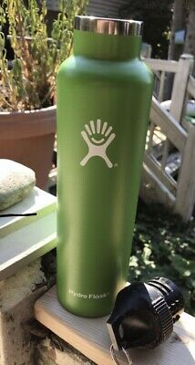 $6.60 • Buy Hydro Flask 24 Oz Green Stainless Steel Leak Proof Sports Some Small Dents