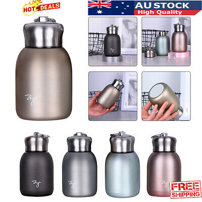 AU15.69 • Buy Small Lovely Stainless Steel Vacuum Flask Thermos Travel Drink Mug Coffee Cups