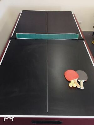 AU229.99 • Buy Table Tennis Ping Pong Table 12mm Top - Can Be Placed On Pool Table