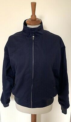 Men's Relco London Vintage Harrington Jacket In Navy Blue Size S • 15£