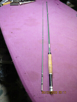 $25 • Buy Vintage Garcia Conolon Fly Fishing Rod 2685 B  8' Fiberglass Dry Fly Action