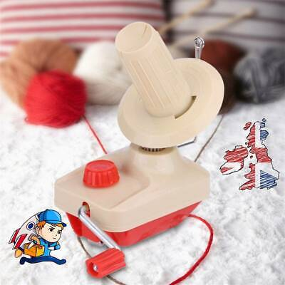 Hand Operated Knitting Roll String Yarn Fiber Wool Thread Ball Winder Holder 1PC • 16.96£