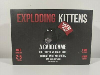 AU24.50 • Buy Exploding Kittens NSFW Edition A Card Game Not Safe For WorkDeck Boobs And Butt