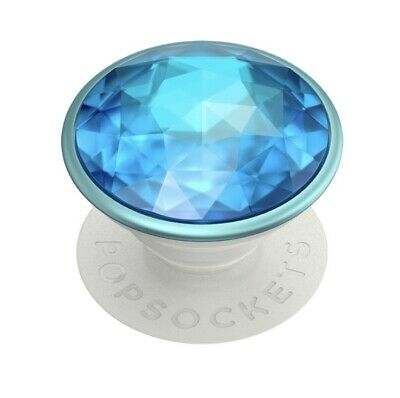AU16.58 • Buy 💎PREMIUM Popsockets Popgrip - Disco Crystal Blue - Cell Phone Holder & Stand💎