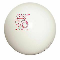 Taylor Bowls Outdoor White Jack • 12.99£