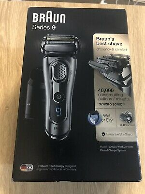 AU499 • Buy Braun 9290cc Series 9 Wet-Dry Electric Shaver Silver Plus Clean & Charge Station