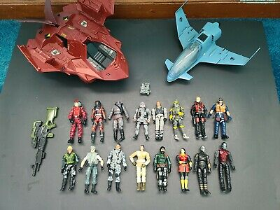$ CDN109.17 • Buy Huge Lot Of GI Joe Vehicles & Figures Early 2000's  Hasbro Toys