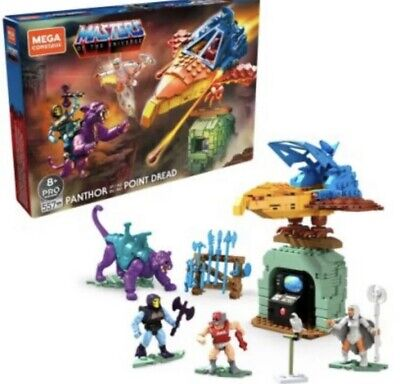 $93.93 • Buy Masters Of The Universe Mega Construx Set Panthor At Point Dread Brand New FREE