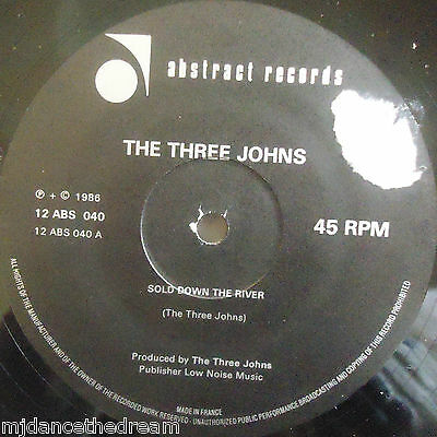 THE THREE JOHNS ~ Sold Down The River ~ 12  Single  • 2.99£