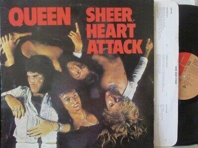 QUEEN - Sheer Heart Attack ~ VINYL LP • 37.99£