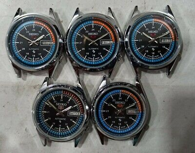 $ CDN167.58 • Buy LOT OF 5 Pcs AUTOMATIC SEIKO 5 6309 VINTAGE MEN'S WATCH IN WORKING CONDITION