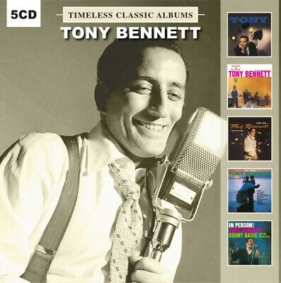 £11.25 • Buy TONY BENNETT - Five Timeless Classic Albums (5 CD) NEW SEALED