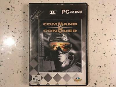 AU19.95 • Buy Command & Conquer (1995) - Windows PC CD-ROM Game - Aussie Seller - Free Postage