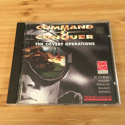AU19.95 • Buy Command & Conquer: The Covert Operations | PC CD Game | Aus Seller | Free Post