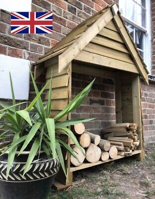 🍂Wooden Log Store-FREE & FAST DELIVERY • 119.99£