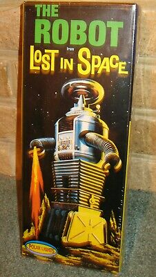 Lost In Space Robot Model Kit #5030 By Polar Lights (remake Of 1960s AURORA Kit) • 39£