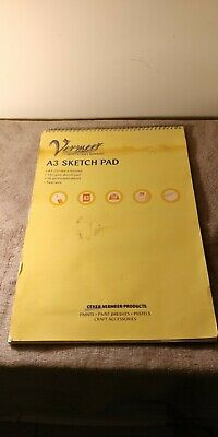 A3 Sketch Pad Used 100 GSM Pad Twin Wire  • 10£