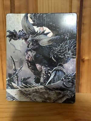 AU55.95 • Buy Ps4 Monster Hunter World Steelbook WITH DISC