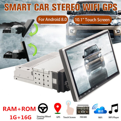 AU260.22 • Buy 1Din Radio Android Car Stereo Multimedia Players 10 Inch Video GPS WiFi MP5 Play