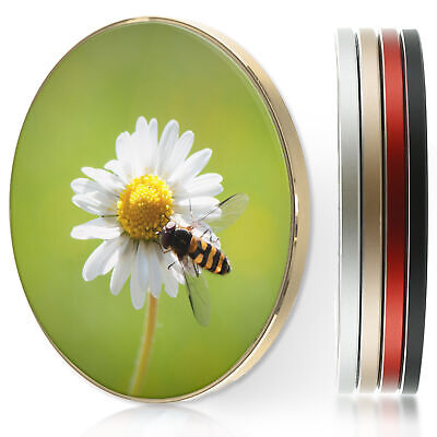 AU44.12 • Buy QI Wireless Charger For Apple Iphone 11/XS/8/Samsung S10/S9 - Daisy Flower Print