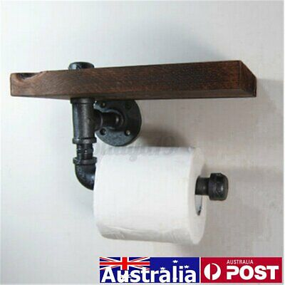 AU20.72 • Buy Industrial Toilet Paper Roll Holder Rack Rail Bathroom Washroom Wall Mounted AU