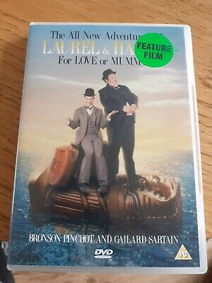 The All New Adventures Of Laurel And Hardy: For Love Of Mummy DVD (2006) Cert U • 3.99£