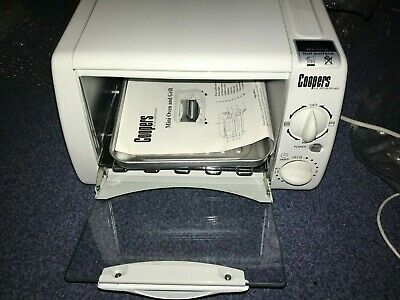 Coopers Of Stortford Compact Mini Oven & Grill 6500 - BARELY USED, MINT COND. • 70£