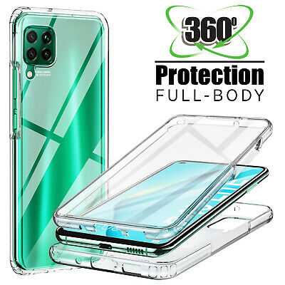 360 Shockproof Case Slim Cover+Screen Protector For Huawei P20 P30 Lite Pro P40 • 2.90£