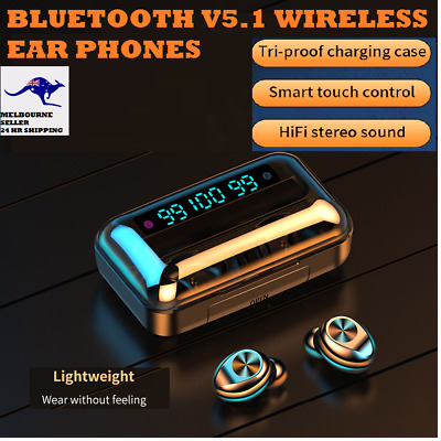 AU23.95 • Buy TWS Wireless Bluetooth V5  Earphones/Earbuds For IPhone,Samsung,OPPO Huawei-