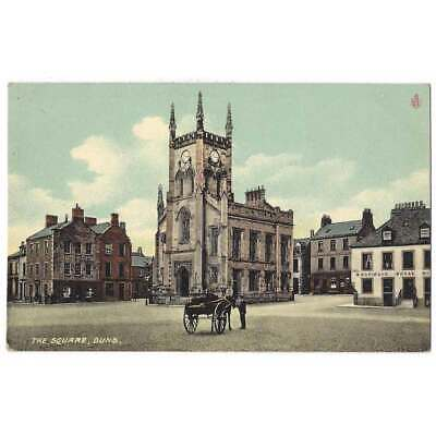 £7.50 • Buy DUNS The Square, Berwickshire Postcard Unposted, Reliable Series
