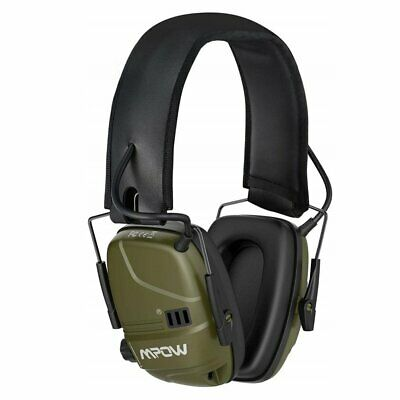 MPOW Electronic Ear Defenders Comfort Sport Impact Shooting Earmuffs Protector • 30.99£