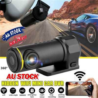 AU33.01 • Buy Mini 1080P Car DVR Camera Dash Cam WIFI G-sensor Video Recorder Night Vision AU