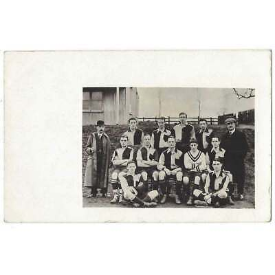 SOCIAL HISTORY Unidentified Football Team Group, RP Postcard Unused • 5.95£