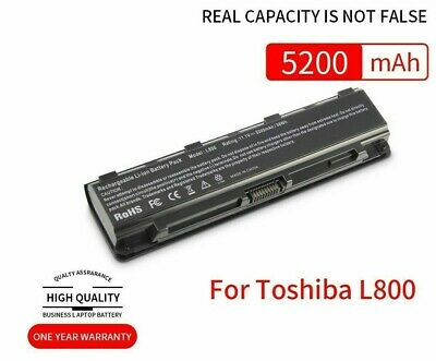 AU113.73 • Buy Laptop Battery For Toshiba Satellite C800 C850 C870 L800 L830 L870 PA5024U-1BRS