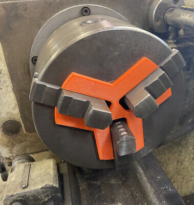 Lathe Chuck Stop Spider - Up To 20mm Jaw - 3 Jaw Chuck - 3D Printed • 14.99£