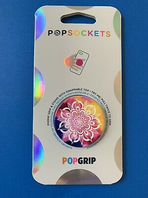 AU12.18 • Buy 🌞Popsockets Popgrip - Passionfruit Mandala - Cell Phone Holder & Stand🌞